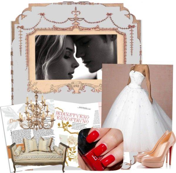 """""""Red Bottom Wedding"""" by gonzalezshavany on Polyvore"""