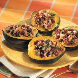 Acorn Squash Microwave Baked Recipe Recipes To Try Baked
