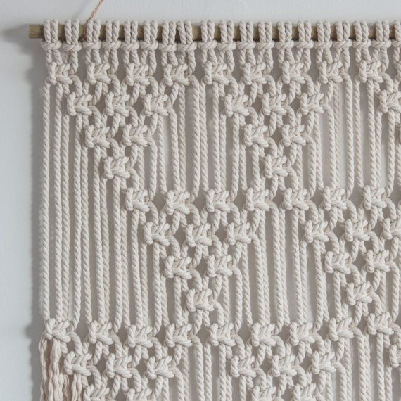 Macrame Wall Hanging > TRIANGLES > 100% Cotton Cord In