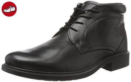 Ennio, Sneakers Basses Homme, Noir (Black), 46 EUEcco