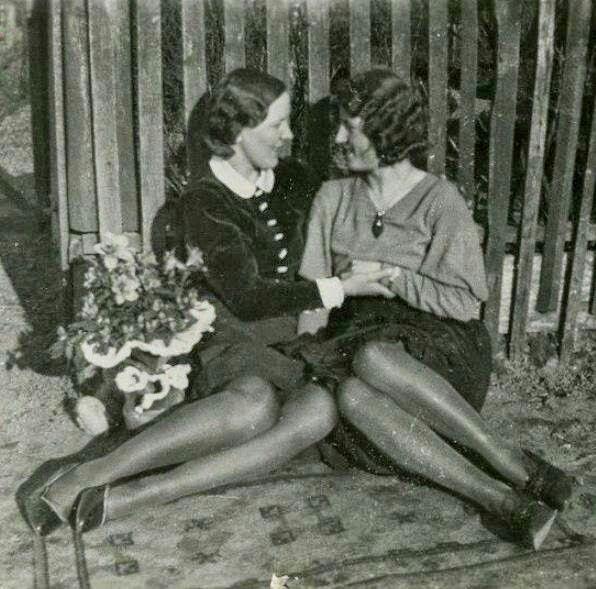 naked women laying down in panties