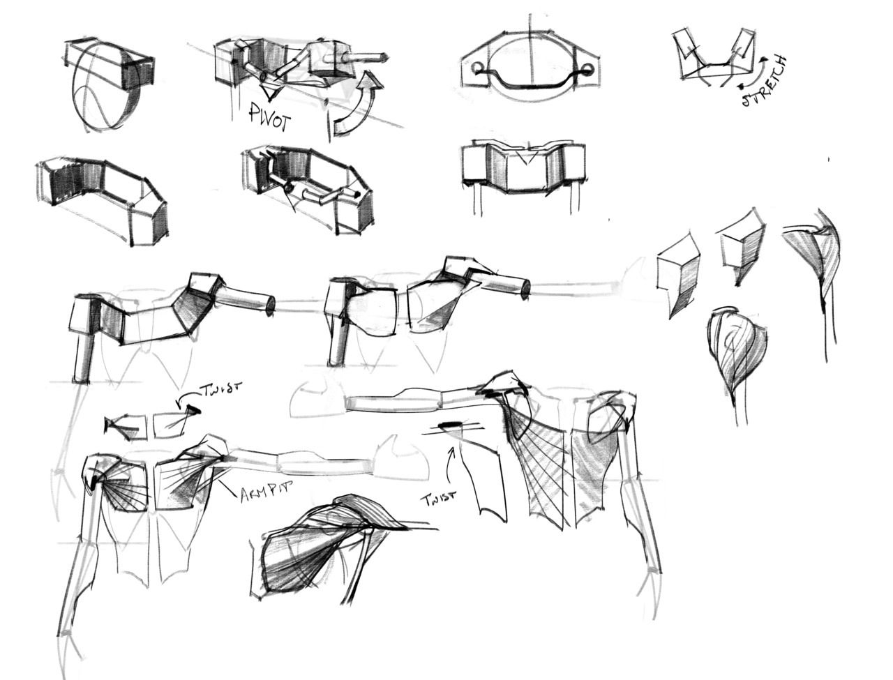 Shoulder girdle. Anatomy for Artists. | Anatomy for Artists ...