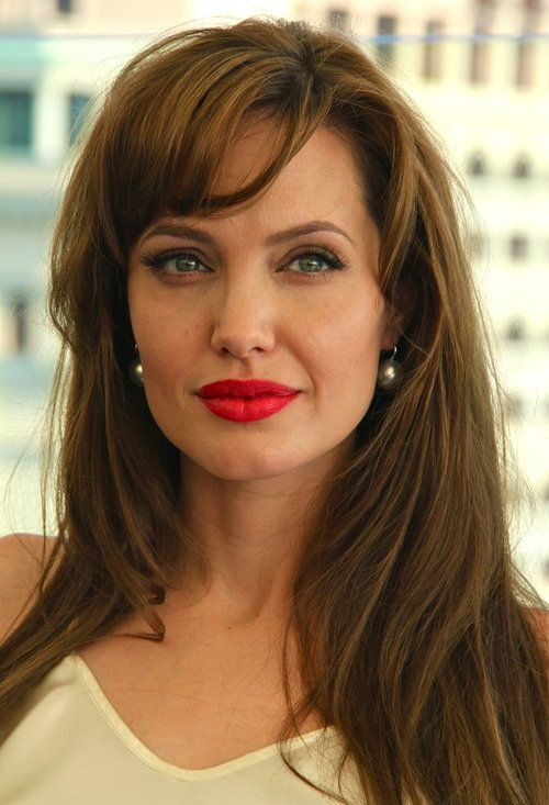 Picture Of Angelina Jolie Angelina Jolie Photos Beauty Red Lipstick Looks