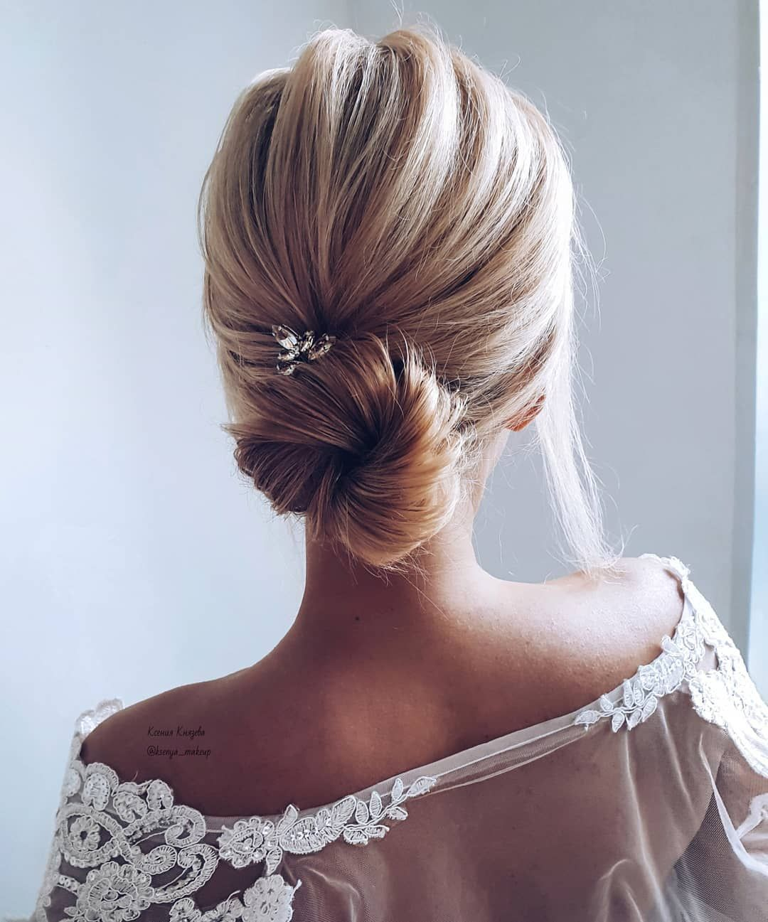 Effortlessly Chic Wedding Hairstyle Inspiration: Gorgeous & Super-Chic Hairstyle That's Breathtaking