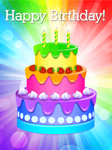 Swell The Happy Birthday Message Explodes Out From The Center Of A Burst Birthday Cards Printable Nowaargucafe Filternl