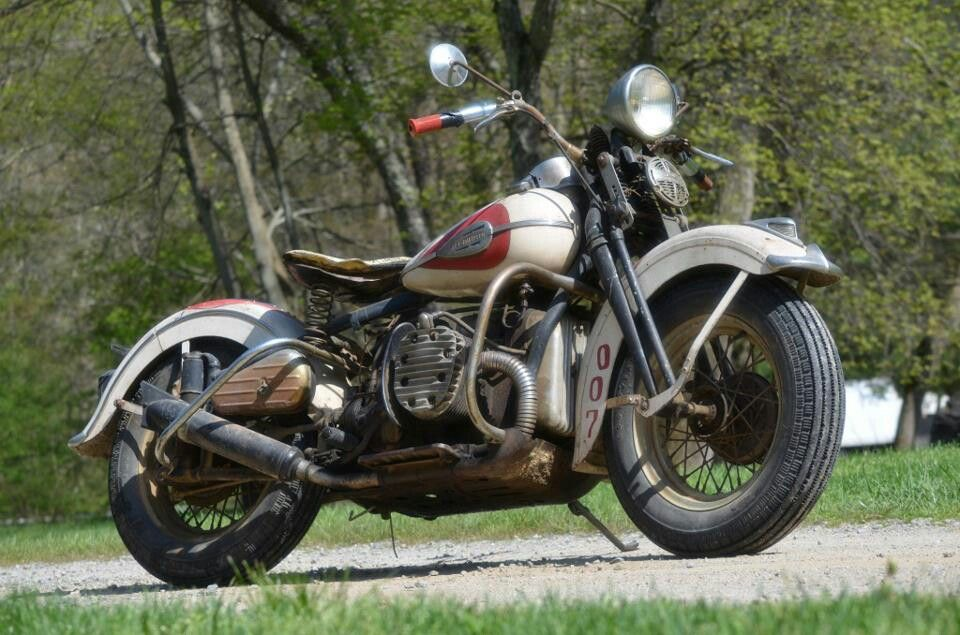 1942 Harley Davidson XA 45