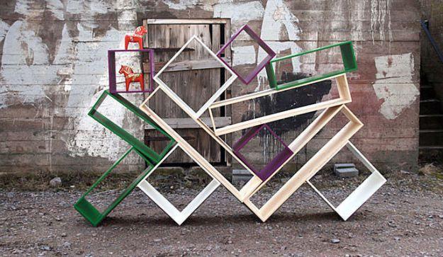 Children's Modular Shelves by Gylldorffsvalin
