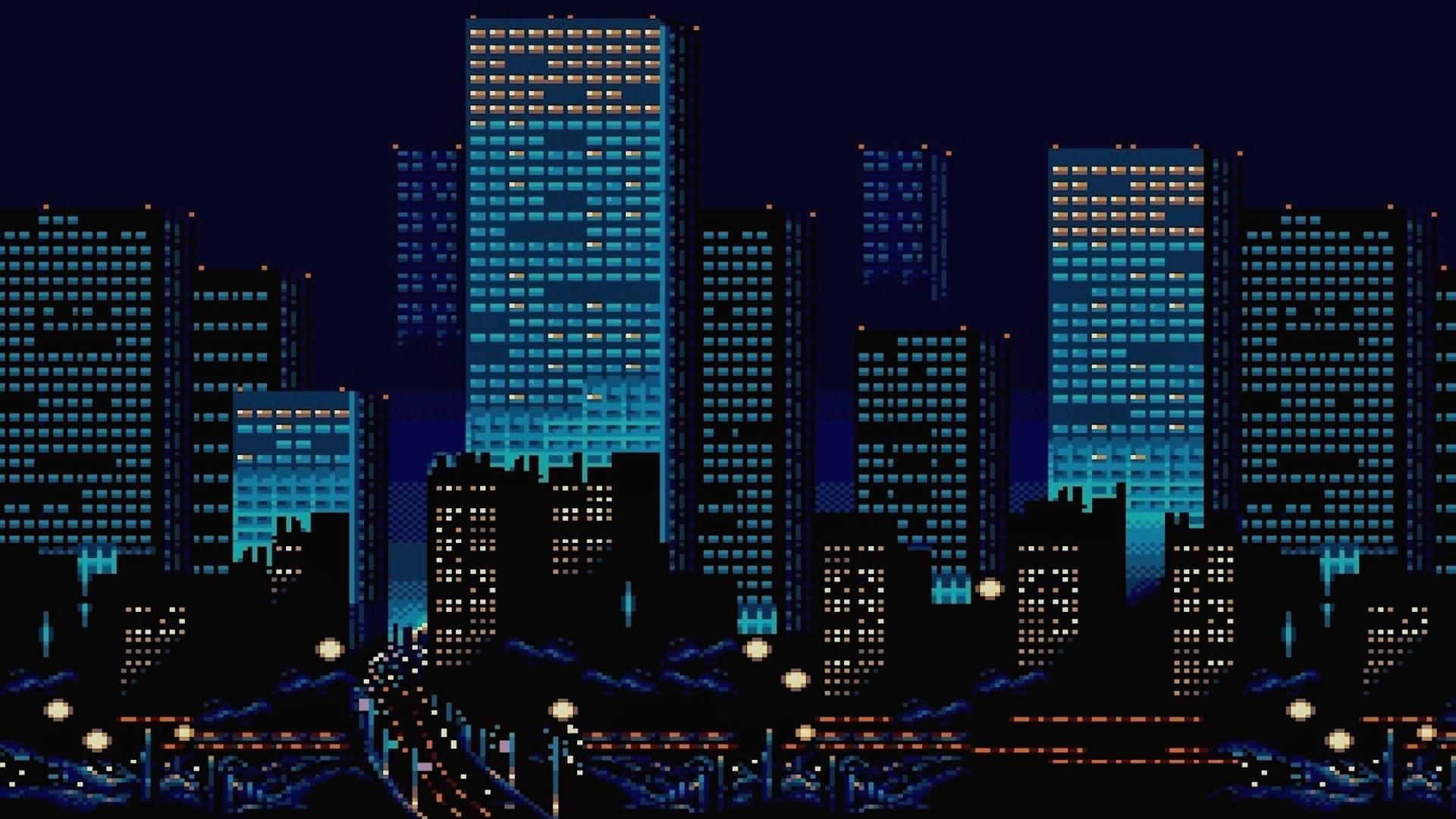 [1920x1080] 8bit City Need iPhone 6S Plus Wallpaper