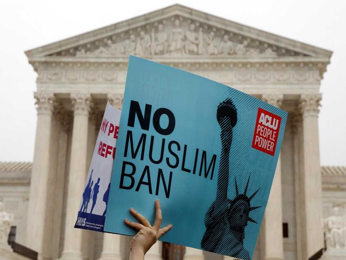 Supreme Court Appears Ready To Uphold Trump S Travel Ban Supreme Court Muslim People Power To The People