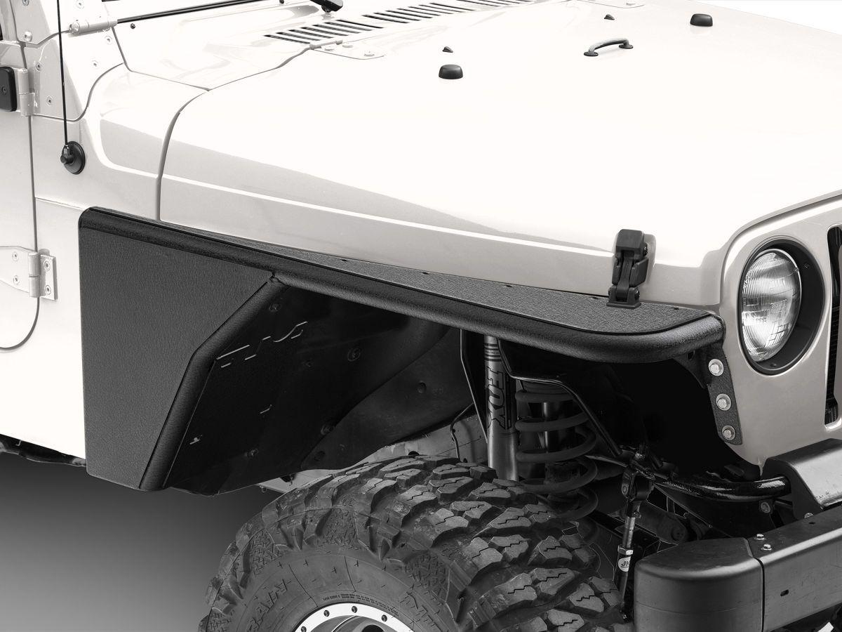 Smittybilt Xrc Armor Front Tube Fenders 97 06 Jeep Wrangler Tj Jeep Wrangler Tj Jeep Wrangler Jeep