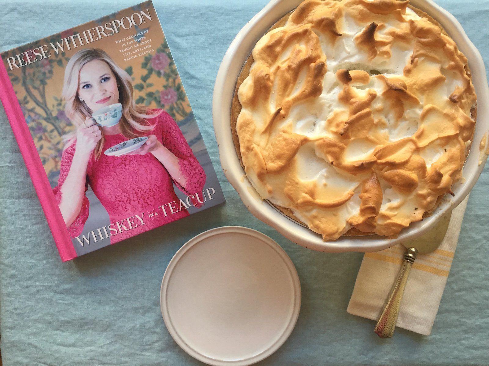 We Tried Reese Witherspoon's Mile-High Lemon Meringue Pie #lemonmeringuepie