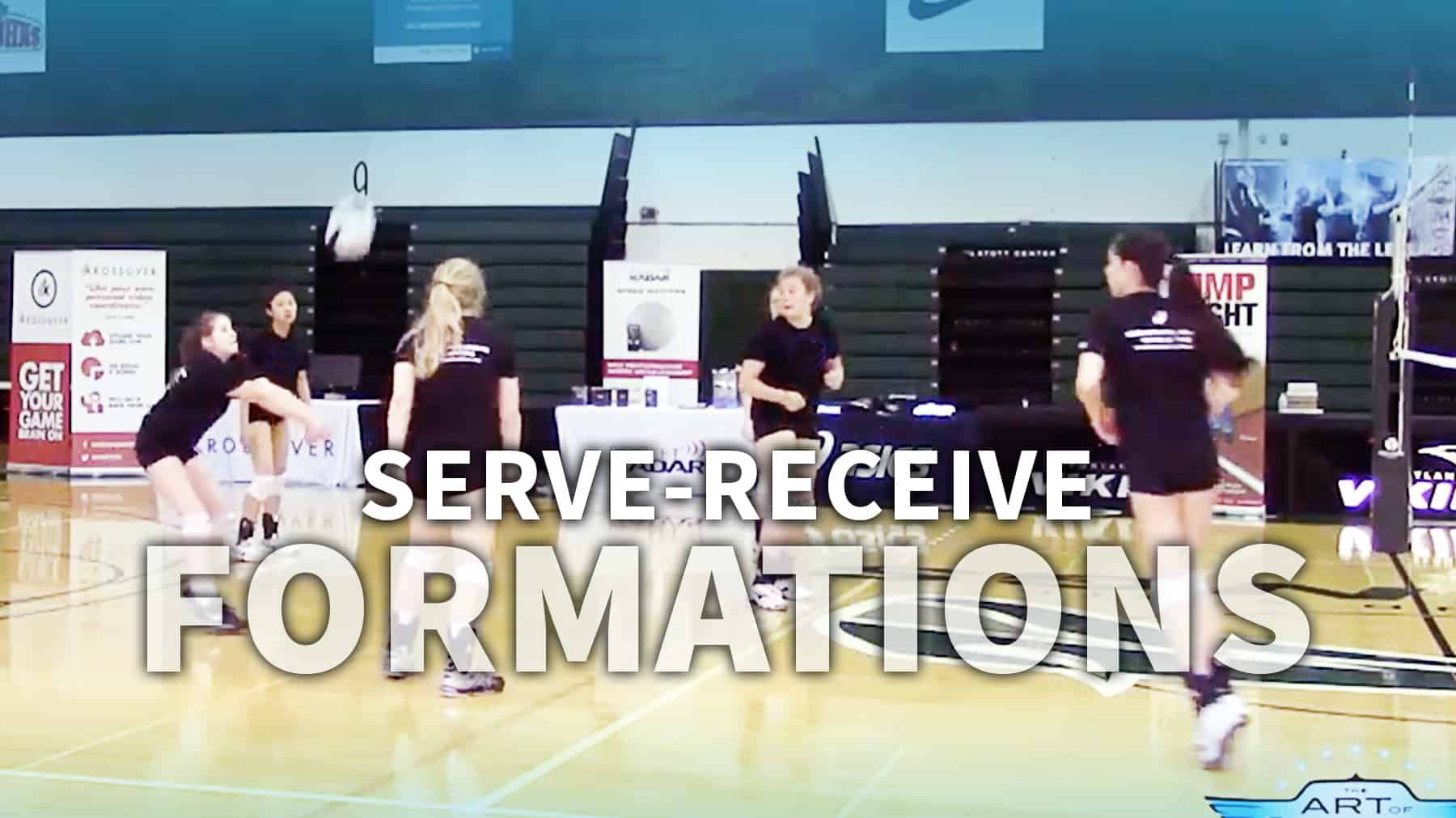 Determining The Serve Receive Formation That S Right For Your Team Coaching Volleyball Volleyball Serve Volleyball Training