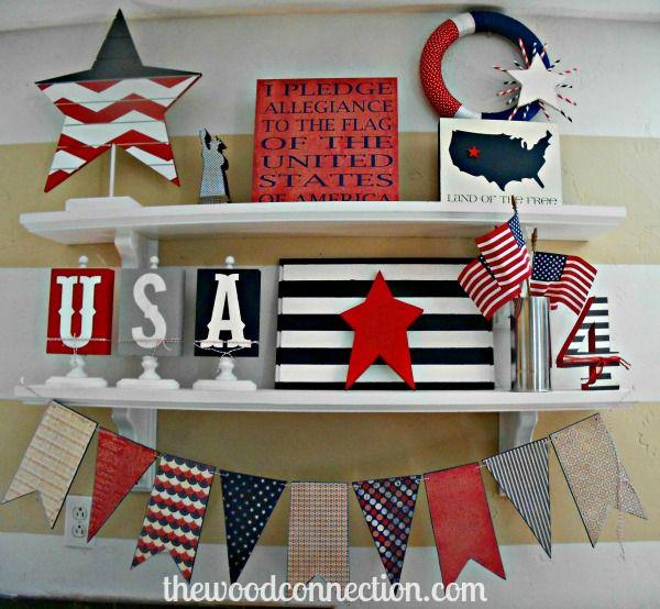 Patriotic Decorations Inspiration Ideas | OakSenHam.com ...