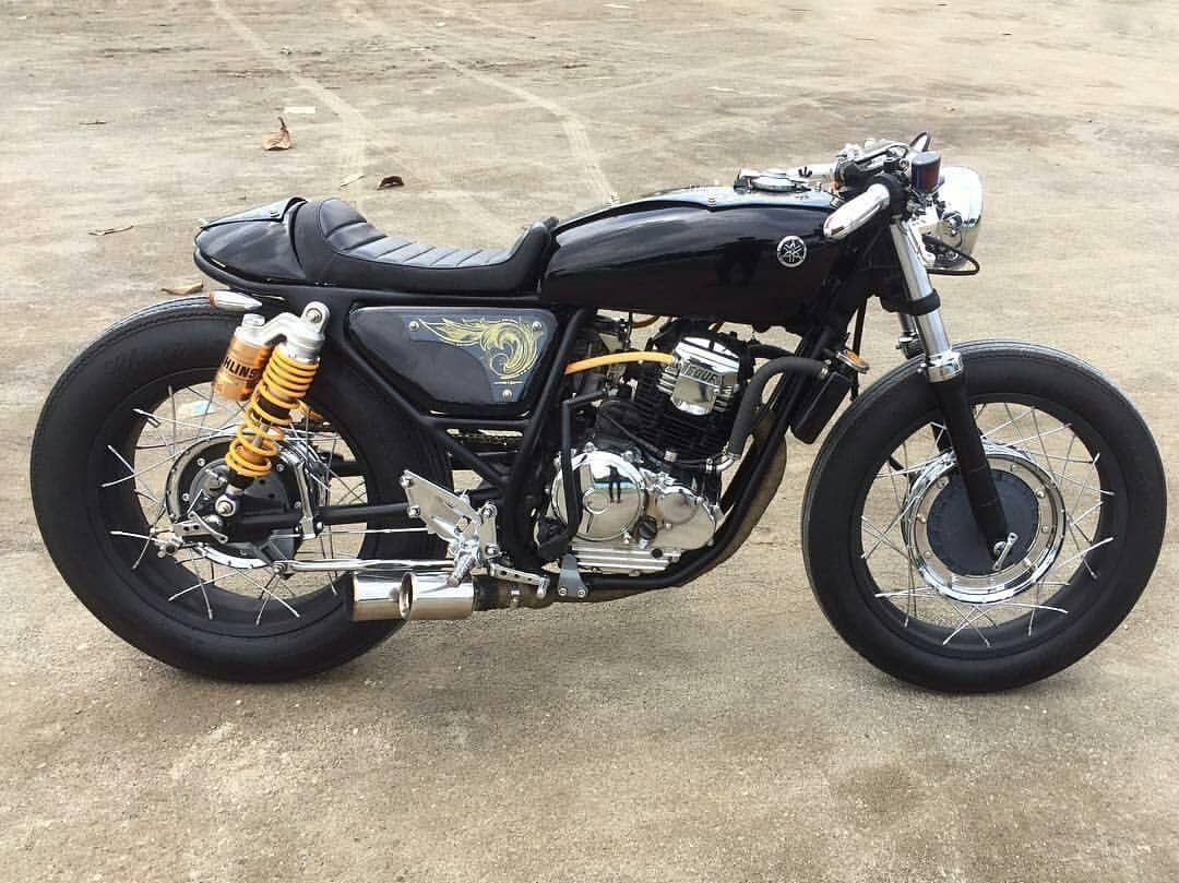 Inspirasi modifikasi motor custom cafe racer part 5 cafe