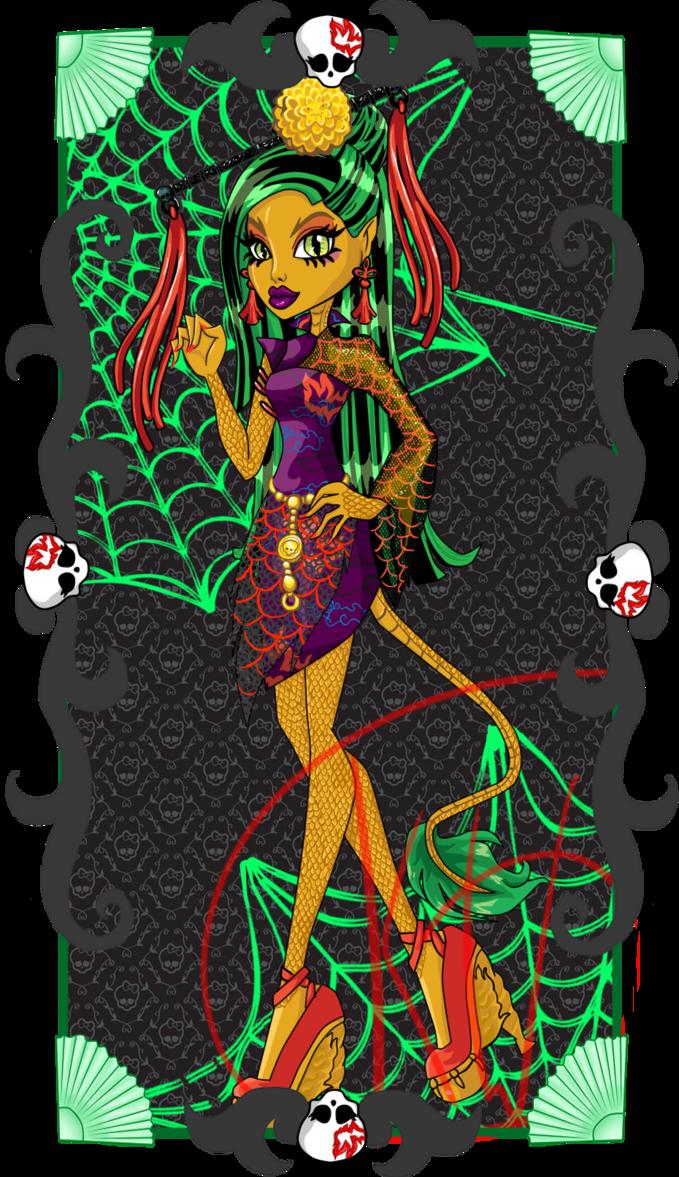 Monster High Jinafire Long by sbb09wojtanowiczk  Bunnys Monster