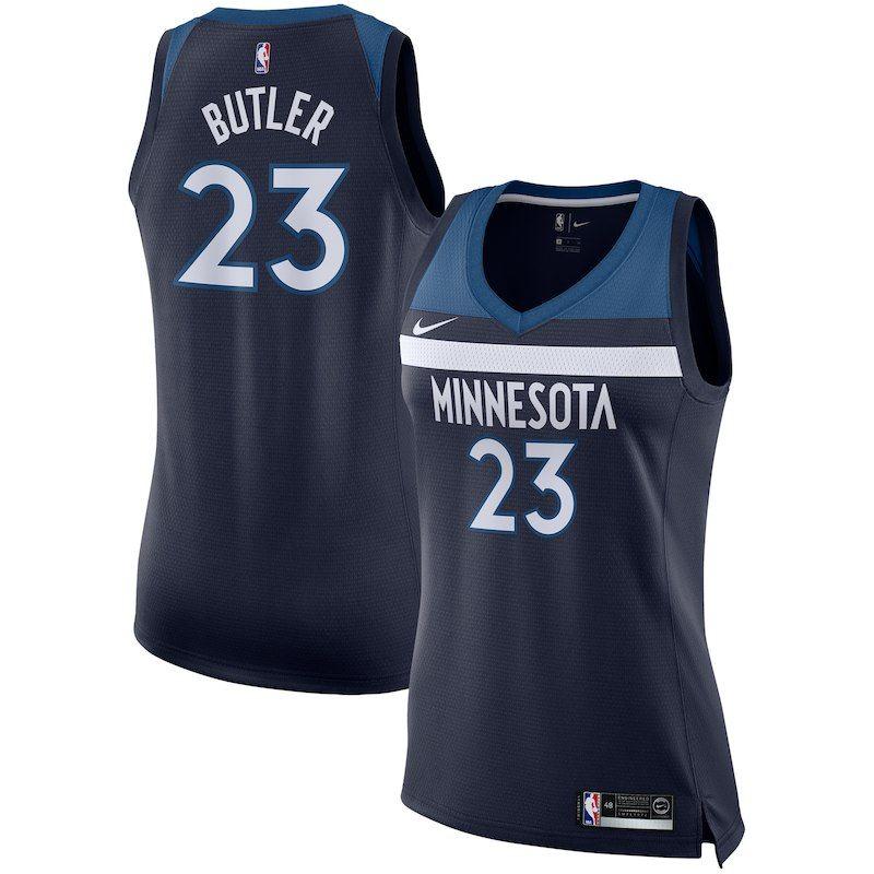 16ae4c33a Jimmy Butler Minnesota Timberwolves Nike Women's Swingman Jersey - Navy -  Icon Edition