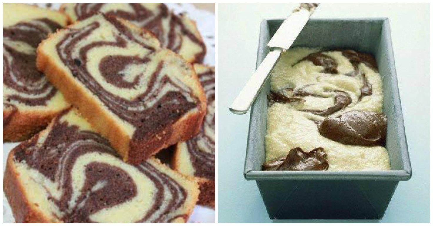Schnell Easy Saftiger Marmorkuchen Mit Nutella So Geht S A