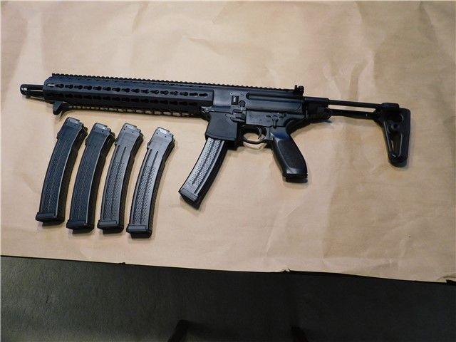 Sig Sauer Mpx Carbine 9mm 1 Rifles Sig Sauer Assault Rifle