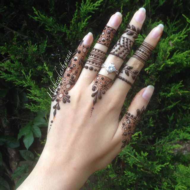 """@habeedashenna on Instagram: """"I always tend to go towards these dainty henna patterns in Ramadhan, don't have a clue as to why."""