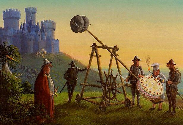 Khevron S Card Page Surreal Art Painting Illustration Funny Art