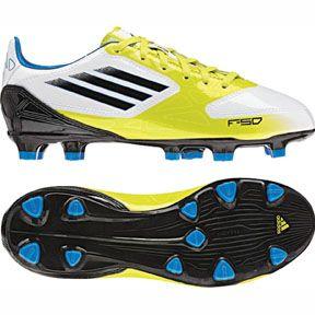adidas Youth F10 TRX FG Soccer Shoes (Lime)  bc08935028