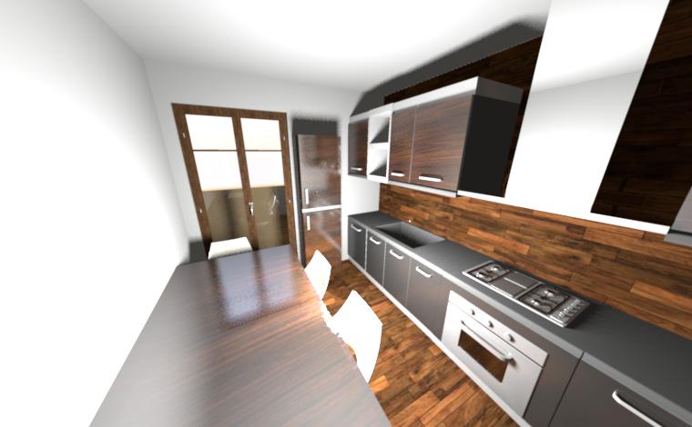 cucina abitabile 8 mq | idee di arredamento create da me | Pinterest ...