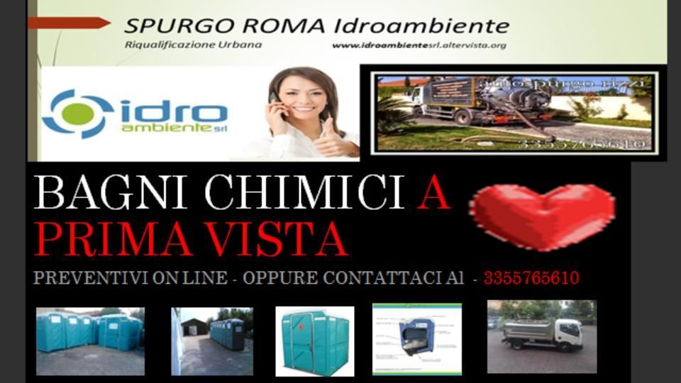 Bagni Mobili A Noleggio Picture Gallery Idro Ambiente Spurgo