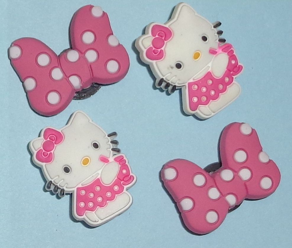 Spongebob /& Hello Kitty Shoe Charms Shoe Buttons Shoe Pins put on Your Clogs