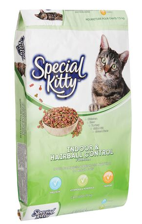 Special Kitty Indoor Hairball Control Dry Cat Food Dry Cat Food Cat Food Grain Free Cat Food