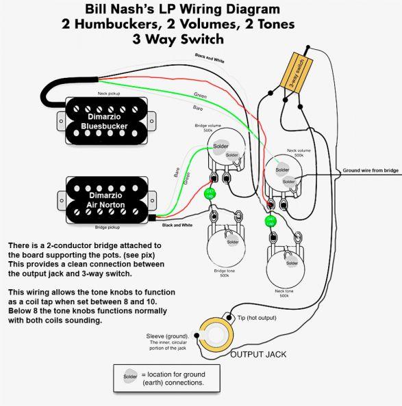 [QMVU_8575]  Pin on Guitar tech | Wiring Diagram For Epiphone Dot Studio |  | Pinterest