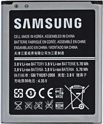 42% Off was $22.89, now is $13.24! Samsung EB-F1M7FLU Battery for Galaxy S3 mini - Original OEM - Non-Retail Packaging - Grey