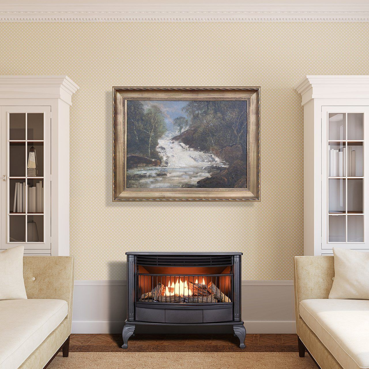 Best Gas Fireplace Inserts Reviews 2017 Direct Vent Or Ventless