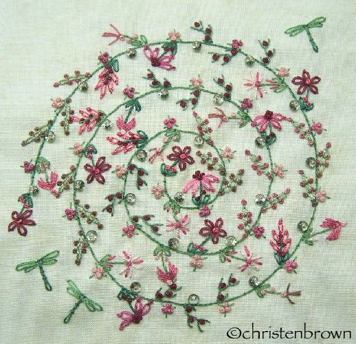 Stitchalongsampler1cb Crazy Quilts3 Pinterest Embroidery