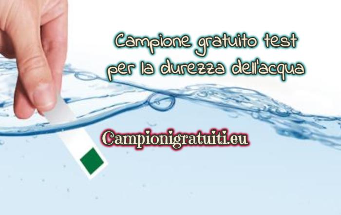 Campione gratuito test per la durezza dell'acqua offerto da Brita