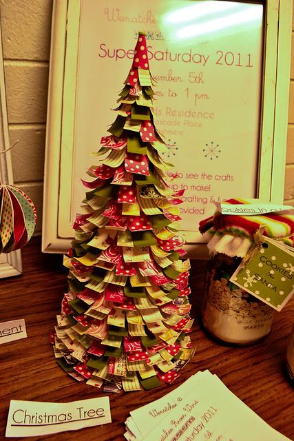 Paper Tree Christmas Pinterest Paper trees, Xmas tree and