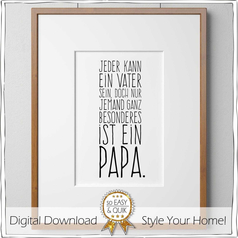 papa vater spruch printable mit geschenkanh nger von. Black Bedroom Furniture Sets. Home Design Ideas