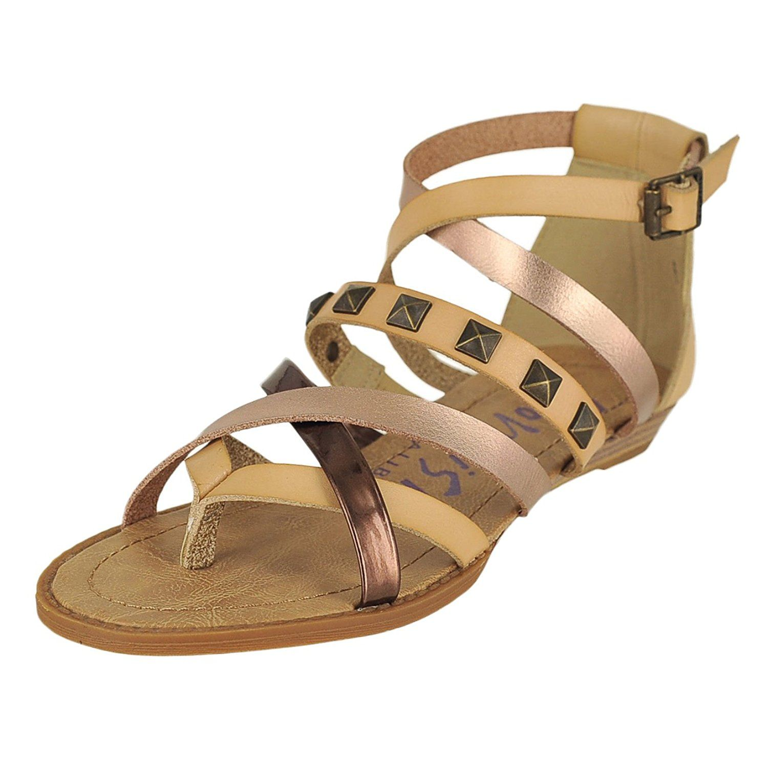 1e23cc6d49c7e Blowfish Blaw Dust Nat Rose Dye Bronze Womens Ankle Strap Sandal Size 11M      Continue to the product at the image link.