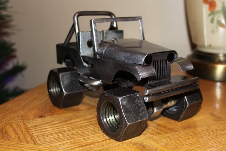 Hand made mini jeep weldingweb welding forum for for Cool things to weld