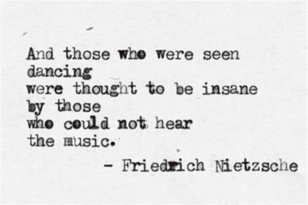 LOVE!!  #Nietzsche   #music #quote