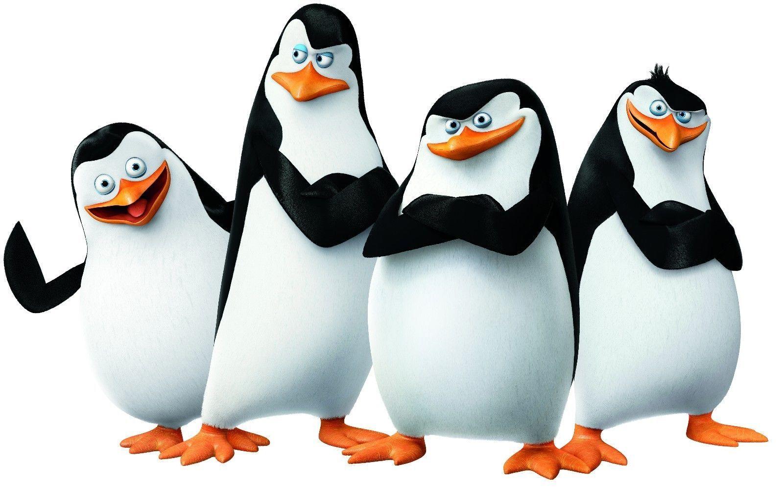 $2.5 - madagascar penguins t shirt iron on transfer 8x10- 5x6 -3x3
