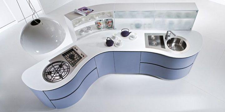 Cocinas Futuristas Decoracion Pinterest Interiors And Kitchens - Cocinas-futuristas