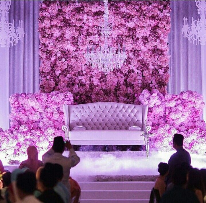 Debut Stage Backdrop Elegants | Pelamin | W...