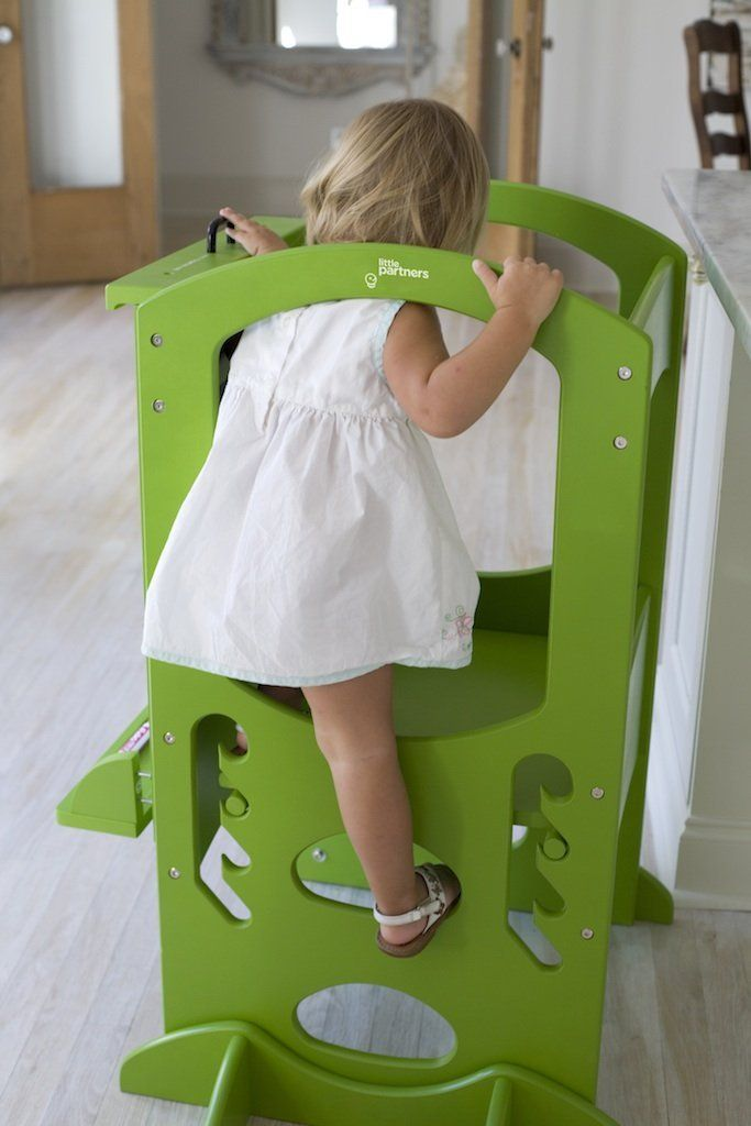 Magnificent Learning Tower Kids Adjustable Height Kitchen Step Stool Cjindustries Chair Design For Home Cjindustriesco
