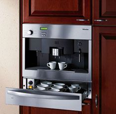 This In Wall Unit Does The Whole Works From Grinding Beans To Frothing Milk
