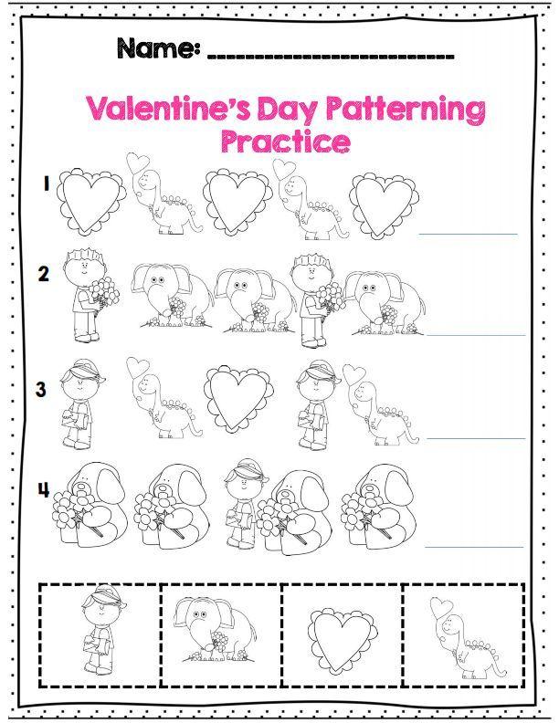 pattern practice for Valentine\'s day | artsncrafts | Pinterest ...