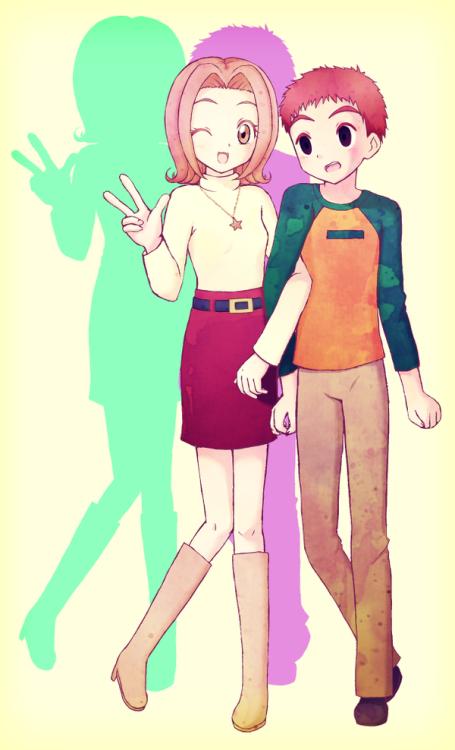 Pin by ダヒヤナ💖🇧🇴 on Digimon Koushiro & Mimi Forever