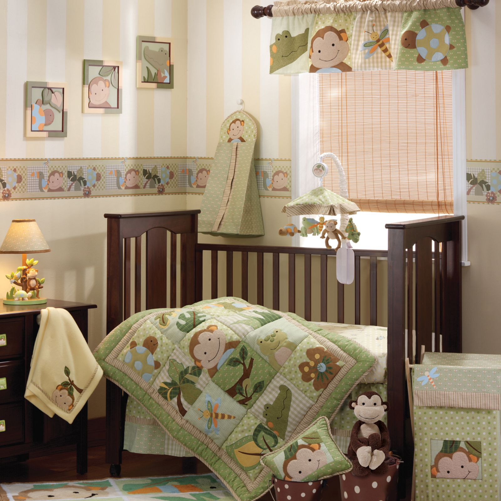 Monkey crib bedding for girl babies - Baby Bedding For Boys Google Search
