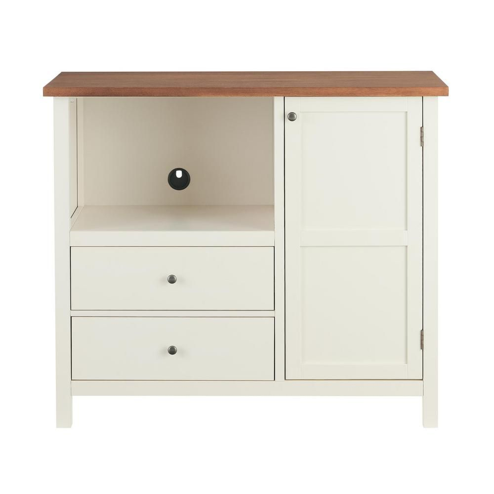 Stylewell Stylewell Ivory Wood Transitional Kitchen Pantry 42 In W X 36 In H Sk19312ar1 V The Home Depot In 2020 Kitchen Cabinet Storage White Office Furniture Modern Kitchen Storage