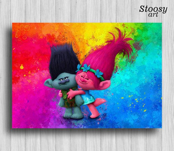 Trolls poppy branch party favors decorations by