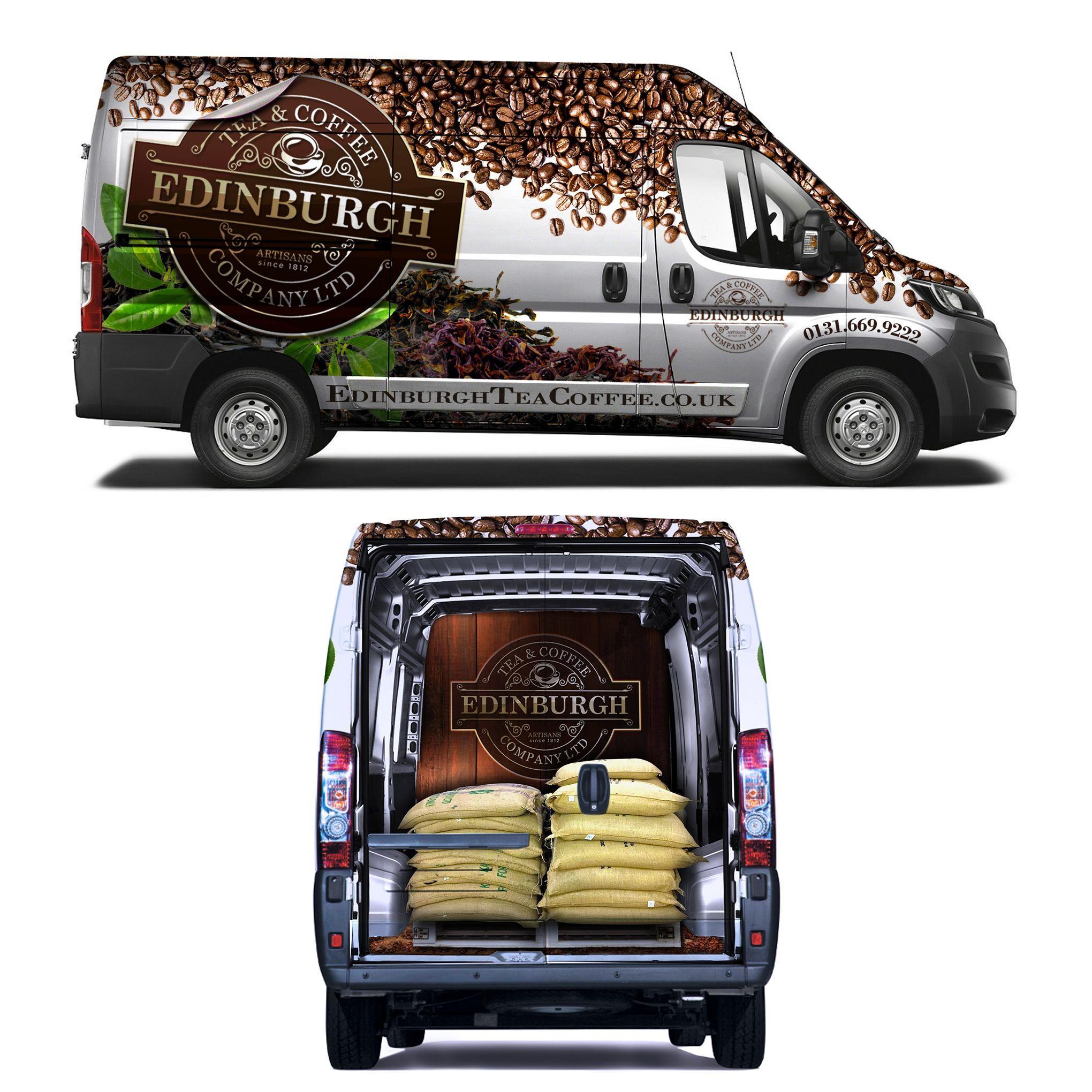 Design car contest - Designs Design A Show Stopping Van Wrap For Edinburgh Tea And Coffee Co